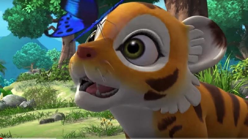 Маугли Книга джунглей Детеныш Маугли развивающий мультфильм для детей HD