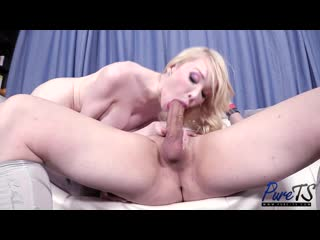 Krystal Syx  Sarina Valentina - Sarina Invites Her New Trans GF Into The Mix _720p
