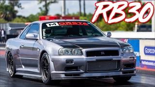 Rowdy Miata Surprises RB30 R34   2JZ Lexus   Sequential R33 GTR