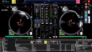 Virtual DJ 8 - Mouse & Keyboard Scratch Freestyle Session #2