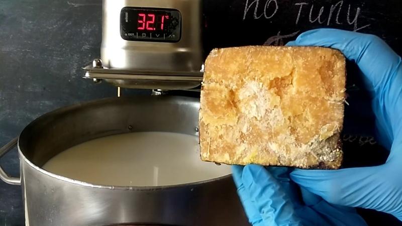 Сыр пармезан ( по мотивам тёрочных сыров ) / Как сделать сыр / Сыроварня Тремасова на 30 литров