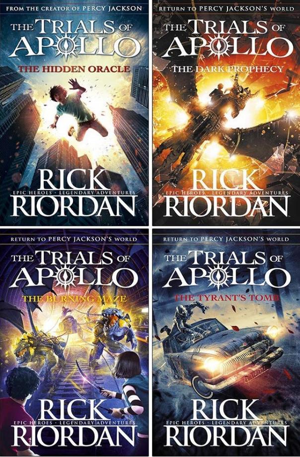 The Hidden Oracle - Rick Riordan