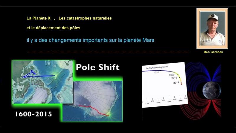 Il y a des changements importants sur la planète Mars