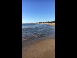 Звук волны, самая хороша терапия сиде погода 20+ градусов, солнечная погода.турция.net<видео и прямые трансляции из турции.😍
