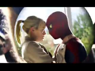 peter parker // gwen stacy // the amazing spider man vine