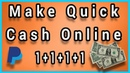 Earn $1 Again And Again - Make Quick Cash Online Right NOW