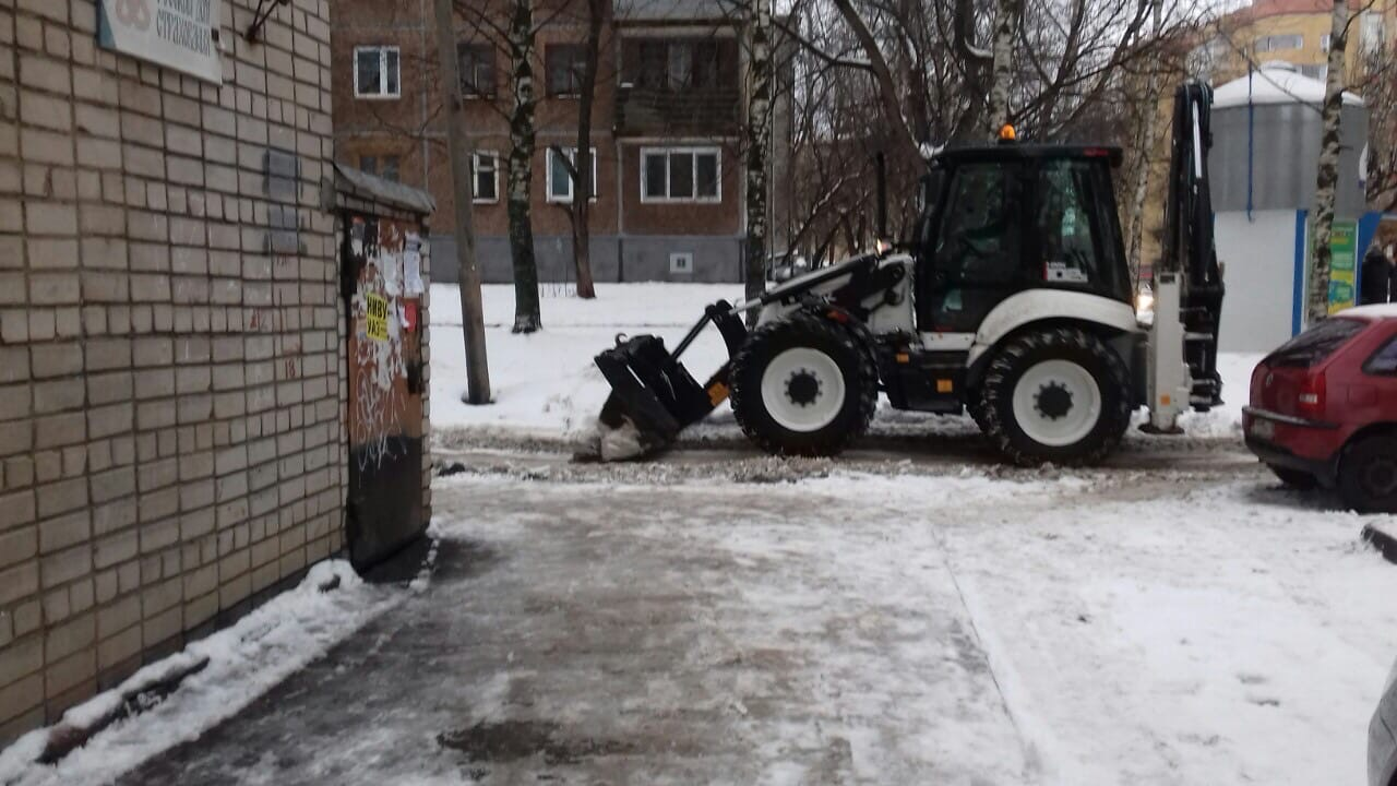 Улица Карла Либкнехта дом 37 механизированная уборка