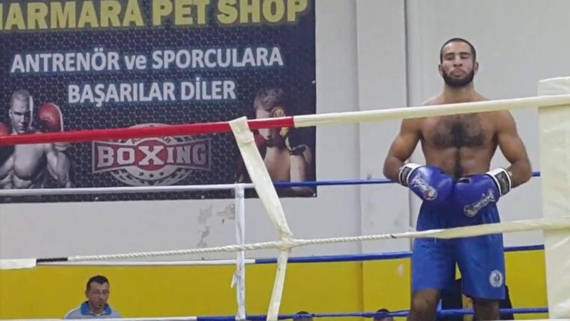 Yunus Kurbanov box, full fight, first round RİCH