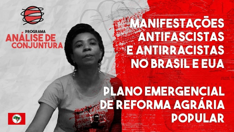 Análise de Conjuntura Manifestações Plano Emergencial de Reforma Agrária