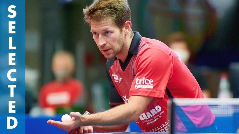 Bastian Steger vs Marcelo Aguirre TTBL Selected