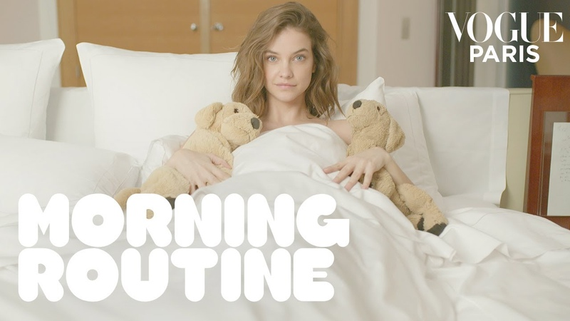 Stay home and spend the morning with Barbara Palvin Morning Routine Vogue Paris
