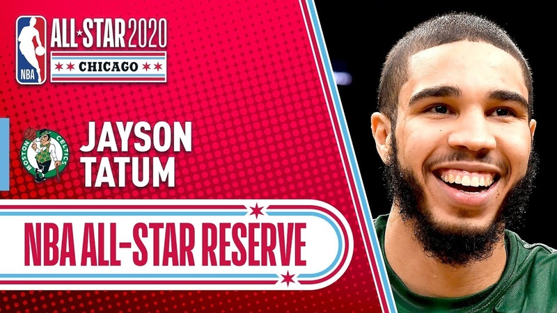 Jayson Tatum 2020 All Star Reserve 2019 20 NBA Season