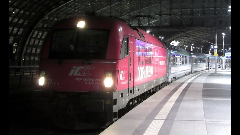 Warsaw to Berlin by EC / EIC 42 train