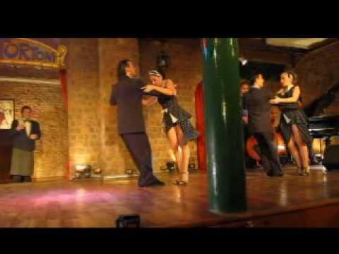 The Tango at Cafe Tortoni