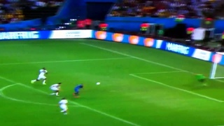 Palacio Incredible miss vs Germany in World Cup final
