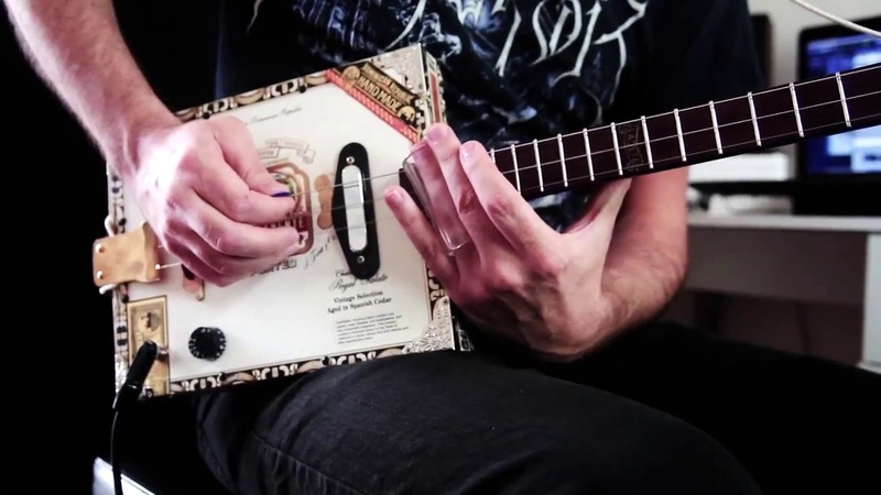 MUSE HYSTERIA CIGAR BOX GUITAR COVER by Jerome Graille
