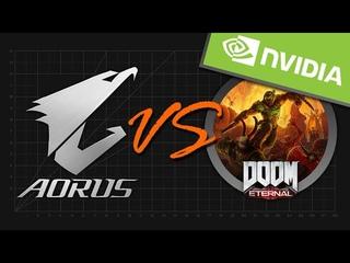 NVIDIA Тест 5  видеокарт GIGABYTE в DOOM Eternal