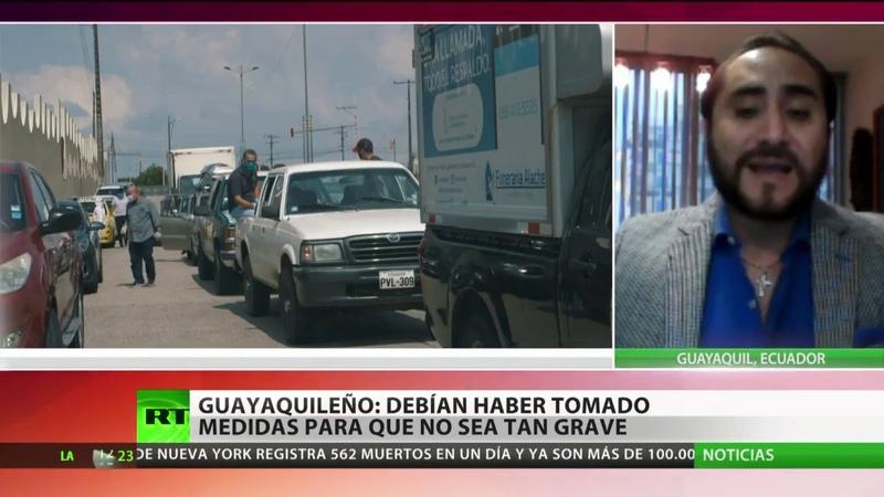 Guayaquileño denuncia que autoridades deberían haber tomado medidas para evitar la crisis sanitaria