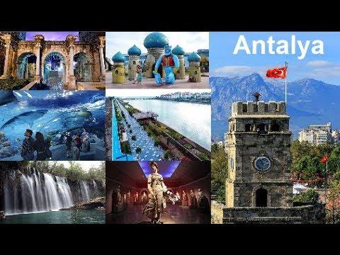 Antalya'da gezilecek ve görülecek yerler Antalya'da nereye gitmeli