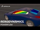 Exterior Aerodynamics Frequency Bands | SIMULIA PowerFLOW