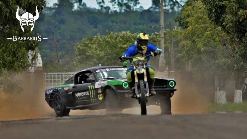 JOAO BARION Barbarius Drift Chase Monster Energy Drivers