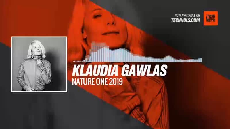 Klaudia Gawlas - Nature One 2019 Periscope Techno music