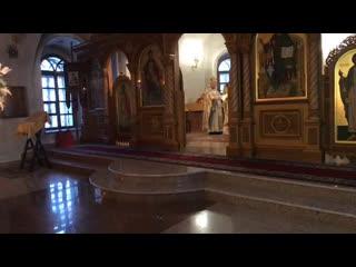 Божественная Литургия в юбилей протоиерея Валерия Гордеева
