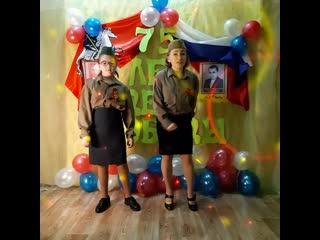 дуэт Алия и Алсу поппури военных песен