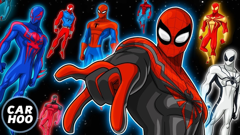 THE ULTIMATE SPIDER-MAN PARODY Over 20 Spideys 【Into the Spider-Verse Parody】