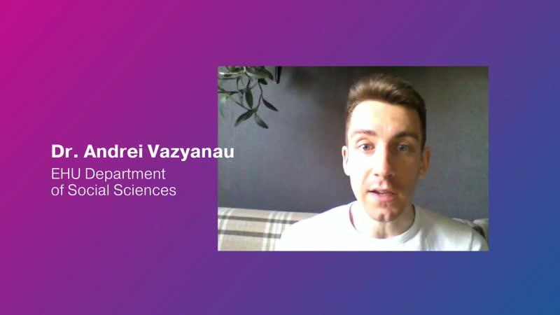 EHUSafeDistance Dr Vazyanau introduces Media Research Methodologies