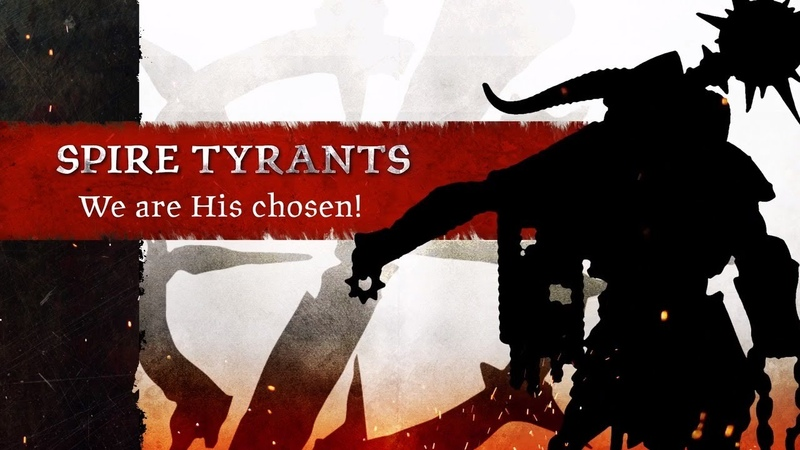 Warcry Spire Tyrants Reveal Trailer