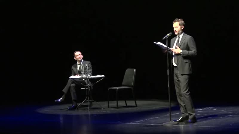 Константин Хабенский и Александр Цыпкин в Торонто.
