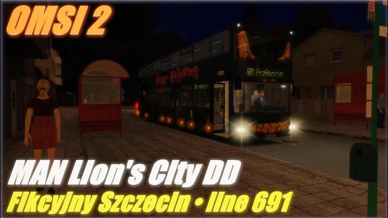 OMSI 2 Fikcyjny Szczecin line 691 MAN Lion's City DD