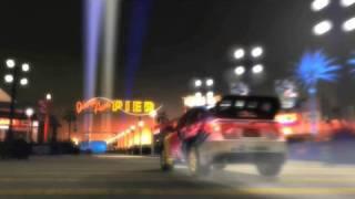 CG rendering of Pastrana's New Year's Eve jump