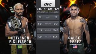 UFC 256 Free Fight: Deiveson Figueiredo vs Alex Perez