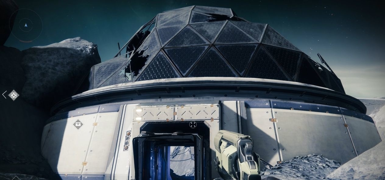 Destiny 2 купольное здание