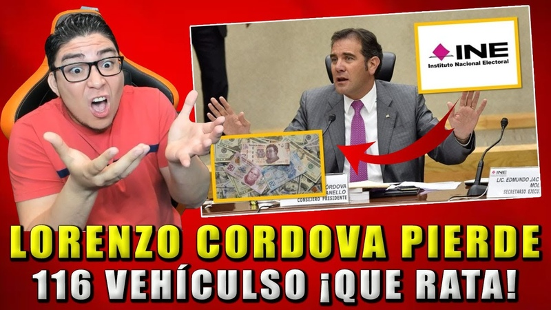 ¡TREMENDA RATA! LORENZO CORDOVA PERDIÓ MILLONES DE PESOS EN INE ¡CHEQUEN NO MÁS!