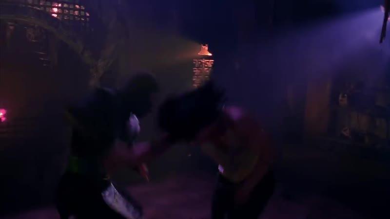 Фрагмент из фильма Смертельная битва - Рептилия