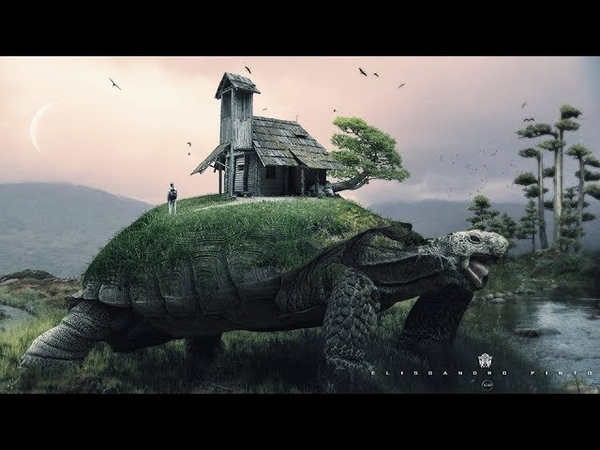 Speed _Art_Photoshop_- Surreal_Fantasy- The trip