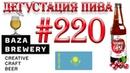 Дегустация пива 220 - казахское пиво Nauryz Gose Shie от пивоварни Baza Brewery! 18