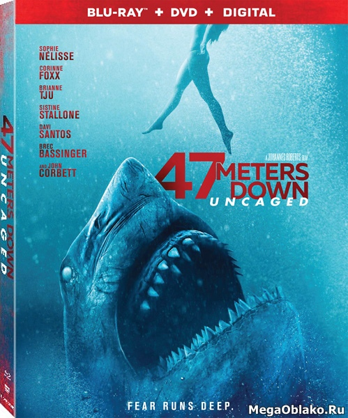 Синяя бездна 2 / 47 Meters Down: Uncaged (2019/BDRip/HDRip)