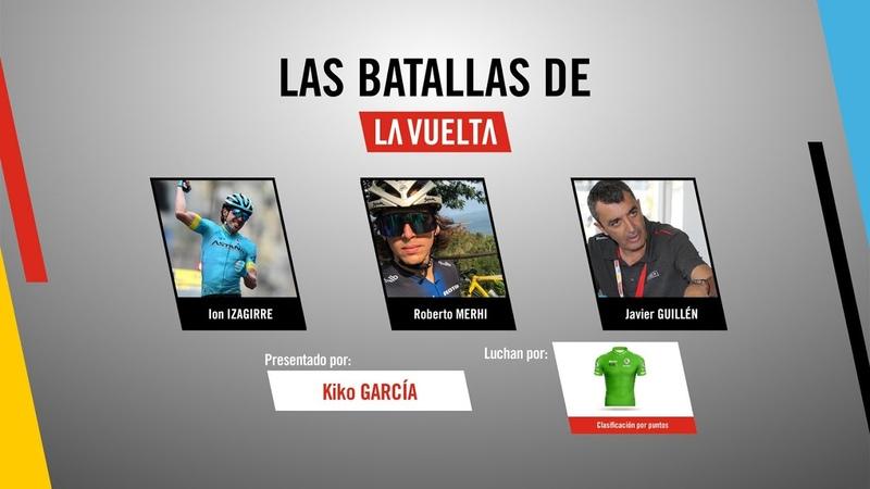 Las batallas de La Vuelta Maillot verde