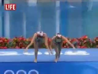 Российская команда. Синхронное плавание.