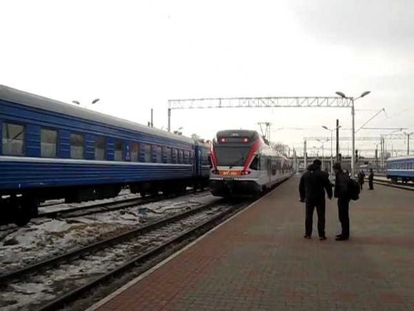 Stadler Flirt in Belarus Minsk