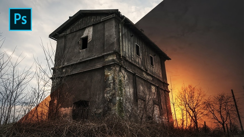 Photoshop Editing Effects - How to Edit Creepy Building