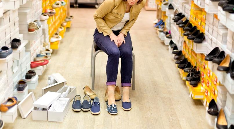 Когда тяжело подобрать обувь, изображение №1