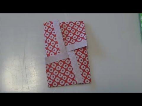 正月「ポチ袋3」折り紙The Poti bag3 origami