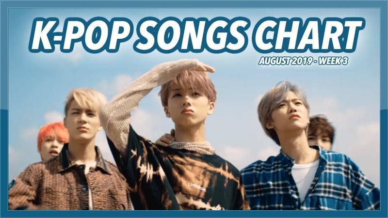 (TOP 100) K-POP SONGS CHART   AUGUST 2019 (WEEK 3)