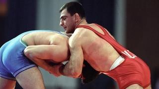 Олимпийские игры 1988 вольная борьба (финал 90 кг) Акира Ота (JPN) vs Махарбек Хадарцев (USSR)