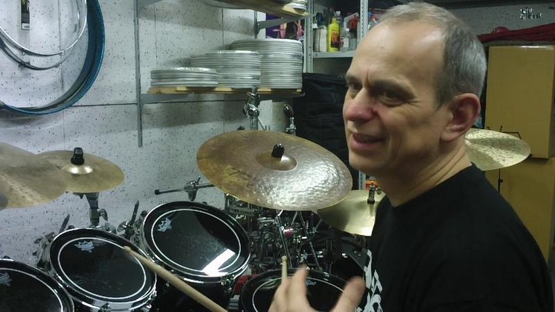 Уроки игры на барабанах. Сбивки в быстром темпе